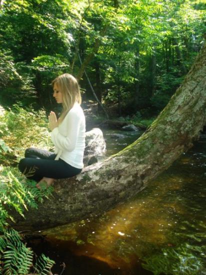 méditation nature